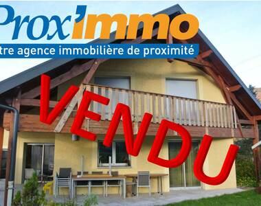 Vente Maison 6 pièces Saint-Étienne-de-Crossey (38960) - photo