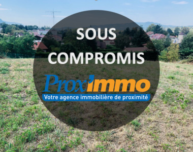Vente Terrain 1 010m² Coublevie (38500) - photo
