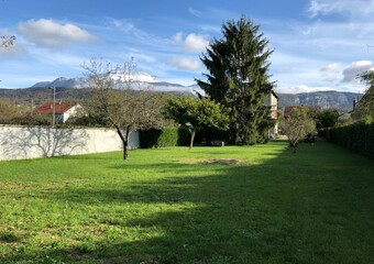 Vente Terrain 849m² Coublevie (38500) - photo